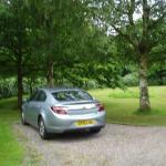 Plenty of Parking, and beautiful garden area