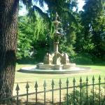 Hitchman Memorial Fountain in the Jephson Gardens
