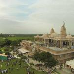 Morning Side View of Adalaj Trimandir