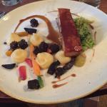 Pork belly & cheese board