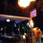 Omar back to orıginal restaurant LİPSOS on the harbour front