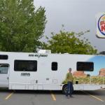 parking Burger King Montrose