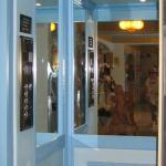 l'ascenseur bleu