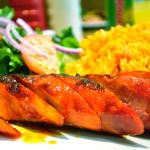 One of the meals from Piri Piri