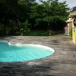 Pool shared with other villa