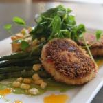 Lobster and Scallops cakes