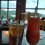 Long Island Iced Tea and a Caesar to finish a busy day of driving, Sol  |  7906 Main Street (at