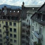 Номер на 6 этаже с панорамными окнами