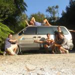Van for kiwifruit workers