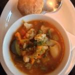 Robust minestrone soup