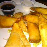 Green Chile Chicken Cheese WonTons