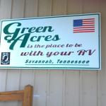 Office building sign