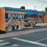 Mural lateral sobre El Castillo de Huarmey