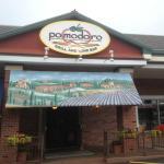 Pomodoro - restaurant front sign