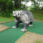 Red Putter: the badger state.
