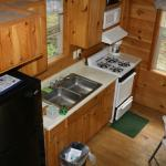 One bedroom Cabin - Loft looking right down to kitchen