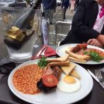 Full English before Ascot Races