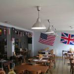 Le restaurant du Château lors de la commémoration du 70ème anniversaire du Débarquement