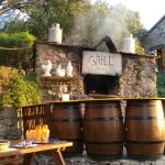 Il grill a Casa di Chiara