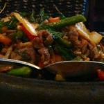 Spicy Lamb Stir Fry