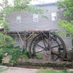 Operating Water Wheel at B&B