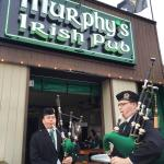 Pipers on St. Patrick's Day