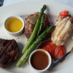 Filet with Lobster Tail Entree