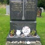 Grave of Famed Motorcyle Racer Mike Hailwood and Daughter