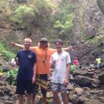 Chandler, John, Hunter at the falls (fish included)