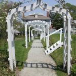 Walkway from Upper Garden to Lower Garden
