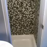doccia pulita e funzionante