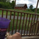 Front porch relaxing