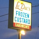 OMG - a MUST in Wisconsin!  Frozen custard stand!!