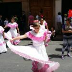 Parade in Old Town Quito