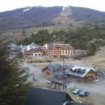Vista desde la escalera del hotel