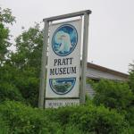 Entrance sign to museum