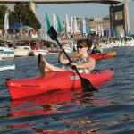 Kayaking in Canalside
