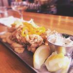 Drink-Calamari w/spicy aoili