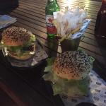 Signature Burger + truffle fries