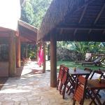 Area do Cafe da manha e jardim