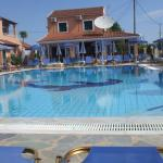The pool and bar