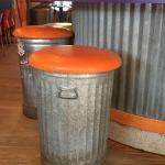 Betty's Pizza Stools