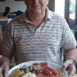 Big breakfast at The Bluebell