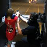 Kids 8 years and older can shoot. Anyone under 18 MUST be accompanied by a parent/legal guardian