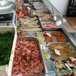 Our seafood counter changing selections all the time.Yummy
