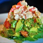 Cilantro Lime Crab Salad with  Avocado