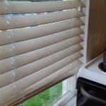 The Kitchen window and blind