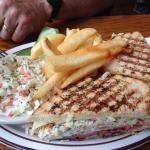 Turkey Ham & Swiss with Cole Slaw
