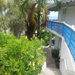 vue des bungalows