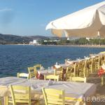 A choice of sea front restaurants